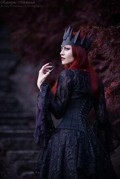 Photo/MUA/styling: Katarzyna Mikołajczak Photography Model, crown: Aleksandra Bazela Welcome to Gothic and Amazing   www.gothicandamazing.com