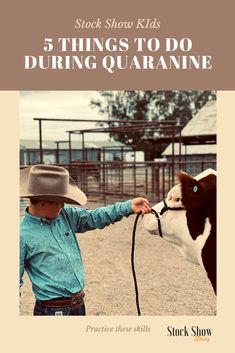 Up Your Game During Quarantine with These 5 Things - Stock Show Stories Livestock Judging, Livestock Farming, Showing Livestock, Showing Cattle, Show Cattle Barn, Show Steers, Pig Showing, Show Goats, Raising Cattle