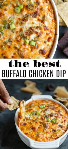 Nothing beats a buffalo chicken dip recipe that is a crowd favorite. We've assembled a list of 17 buffalo chicken dip recipes that we think you'll love to eat! Buffalo Chicken Dips, Poulet Sauce Buffalo, Canned Chicken Buffalo Dip Recipe, Recipes For Canned Chicken, Cream Cheese Chicken Dip, Chicken Nachos Recipe, Buffalo Recipe, Buffalo Chicken Casserole, Buffalo Chicken Meatballs