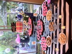 Glam Bridal Shower Black & White with Hot Pink