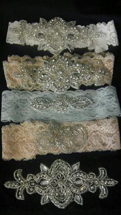 I'm thinking of having two garters, one for the toss and one for keeps...