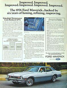 1976 Ford Maverick 4-Door Sedan