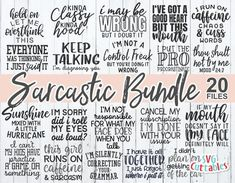The Funny Craft Bundle is here! Packed with hundreds of humorous SVG quotes for Crafters. Free Font Design, Im Done With You, Identity, Good Heart, Svg Files For Cricut, Free Svg Cut Files, Svg Cuts, Cricut Design, Design Bundles