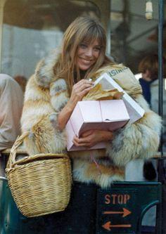 Jane Birkin - 70s inspiration for CATs Vintage - 1970s style - fashion