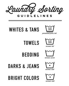 Create A Laundry Schedule Or Routine: Plus Free Printable