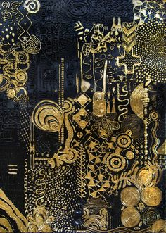 """Determine additional details on """"contemporary abstract art painting"""". Look into our internet site. Contemporary Abstract Art, Modern Art, Art Nouveau, Painting Inspiration, Art Inspo, Or Noir, Art Moderne, Gold Art, Online Painting"""