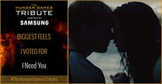 I voted for I Need You as Tribute for The Hunger Games Tribute Awards #TheHungerGamesTribute  tribute.thehungergames.movie