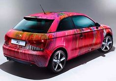 Damien Hirst designs Audi A1 for charity