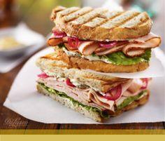 Turkey Panini #sandwiches #recipes