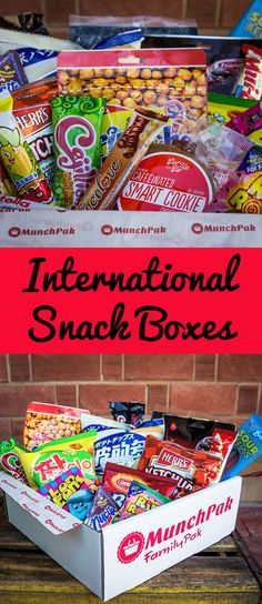 MunchPak imports new and delicious snacks from all around the world. Every box is different so it is always a fun mystery to see what's inside. International snack box, international snack boxes, international snack box gift, international snack box subscription, International snacks, world snack box, snacks around the world, international snacks for parties, international snacks for party, popular international snacks, international snack boxes monthly