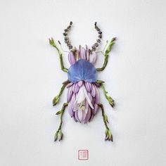 Raku Inoue has a fondness for nature which is highlighted in much of his work. He recently debuted Natura Insects, a series of insects that had been created from pieces of flowers. Petals and stems…