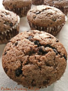 Padma's Cooking Delights:-Mocha Chocolate Chip Muffins