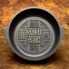 034 The Gifted Pan 034 Prosphora Prosphoro Prosforo Qurban Holy Bread Baking Pan   eBay