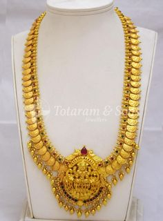 Lakshmi Kasu Long Haar with Lakshmi Ji Pendant