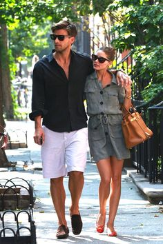 summer styles, power couples, dress, outfit, weekend style