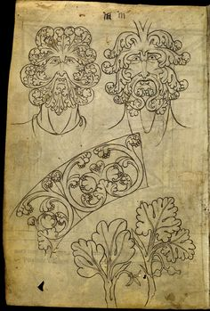 Le carnet de Villard de Honnecourt (vers 1220-1230), fol. 10 - Paris, Bibliothèque nationale de France, Département des manuscrits, Français 19093