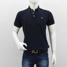 United Colors of Benetton – Dark Blue Polo T-Shirt Polo T Shirts, Benetton, Shopping Sites, Men's Collection, Polo Ralph Lauren, Dark Blue, Polo Shirts, Dark Teal
