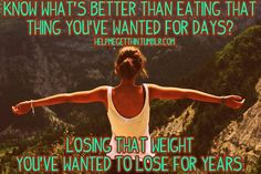 working out and eating healthy does not mean eating bark and grass- you still can splurge because you are working out