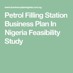 2017 bakery business plan in nigeria pdf sample template petrol filling station business plan in nigeria feasibility study flashek Images