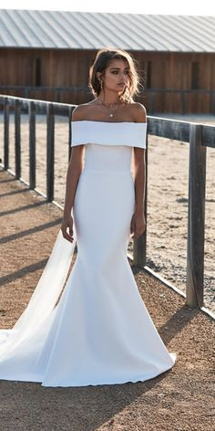 Romantic Wedding Dress,Satin Wedding Dresses,Off the Shoulder Prom Dresses,Mermaid Prom Gown is part of Choose wedding dress inch 3 Shipping time rush order within 15 days to arrive you (but we ne - Mermaid Gown Prom, Mermaid Dresses, Bridal Dresses, Bridesmaid Dresses, Satin Wedding Dresses, Satin Mermaid Wedding Dress, Event Dresses, Long Dresses, Dress Long