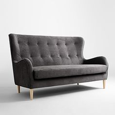 Sofa COZYBOY 3 os. - chmura burzowa(mt15), naturalny