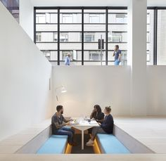 paul crofts studio has overseen a major interior renovation for the headquarters of the advertising agency fold 7 in farringdon central london check grandiose advertising agency offices