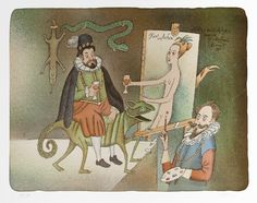 Hans von Achen Hans Von Aachen, Patrick Seymour, Michael Sowa, Gustave Dore, Illustrators, Modern Art, Fairy Tales, Princess Zelda, Animation