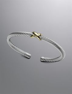 5mm X Cable Bracelet _ David Yurman