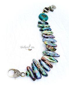 Jewelry Making, Beaded Bracelets, Jewellery, Unique, Handmade, Jewels, Hand Made, Jewelry Shop, Pearl Bracelets