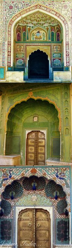 Jaipur, India. Amber Fort.