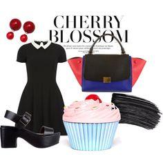 """cherry cherry"" by dviolets on Polyvore"