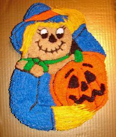 Scarecrow Cake