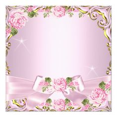 Elegant Birthday Party, Gold Birthday, Princess Birthday, Pink And Gold, Blush Pink, Pretty Pink Princess, Creative Flower Arrangements, Create Your Own Invitations, Wedding Stationary