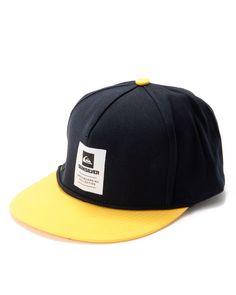 a05ed3a0a1c Quiksilver Skateboarding Collection Snap Back Cap  Low Down