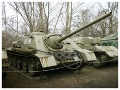 The tank destroyer was the Soviet Union's first attempt to give greater mobility to the 85 mm gun. Weapon Of Mass Destruction, Tank Destroyer, Soviet Army, Ww2 Tanks, World War One, Armored Vehicles, War Machine, Military Vehicles, Wwii