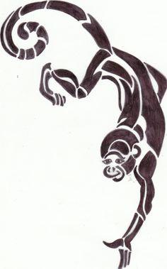 tribal monkey
