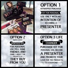 Which Kit Purchaser are you?  #kitnapper #quickcash #presenter #makeupheaven