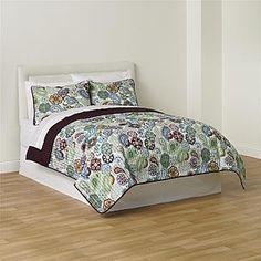 Essential Home- -3-Piece Mandala Quilt Set