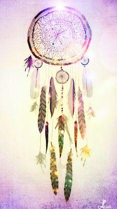 ➳➳➳☮American Hippie Art - Dreamcatcher Wallpaper