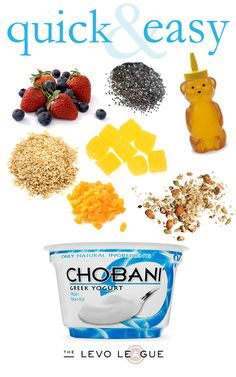 #MadeWithChobani #GotItFree Greek Yogurt and toppings
