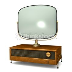 Search for Stock Photos of antique TV on Thinkstock