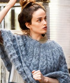 Tweed, My Design, Pullover, Silk, Knitting, Sweaters, Tops, Arrow Keys, Close Image