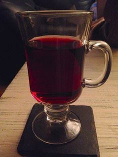 Mulled wine, or Gluh