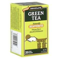 Bigelow Naturally Decaffeinated Green Tea 20 ct