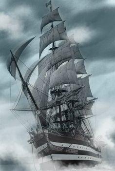 Pirate-sailing-ship | erwinnavyanto.in