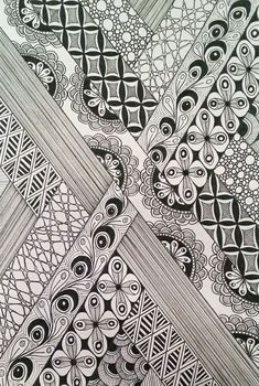 Judy's Zentangle Creations: September 2013