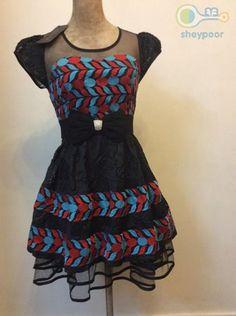 لباس مجلسی عروسکی 65,000 تومان
