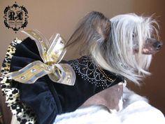 La Marchesa Couture Dog Harness Dress by ROXYANDLULU on Etsy