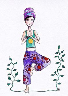 (notitle) - sayings - Yoga İdeen Pilates Videos, Yoga Cartoon, Yoga Drawing, Mode Poster, Yoga Studio Design, Yoga Illustration, Yoga Art, Illustrations, Yoga Meditation