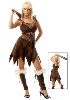 Rugged Cave Girl Costume